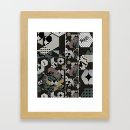 Cosmic child | Chocolate version Framed Art Print
