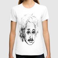 chibi T-shirts featuring Chibi Einstein by Hazel Bellhop