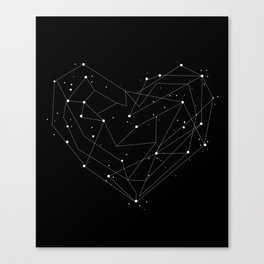 Constellations of the Heart Canvas Print