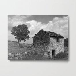 Old stone barn Metal Print