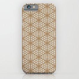 Arabic, Japanese ,ornament, kumiko, Islamic, Ornament iPhone Case