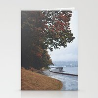 vancouver Stationery Cards featuring Vancouver by Tasha Marie