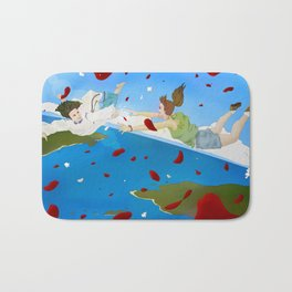 Of Puzzles and Goodbyes Bath Mat