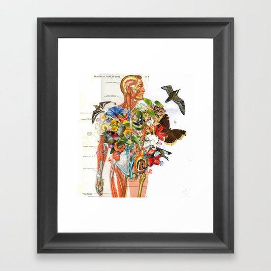 Muscles Framed Art Print