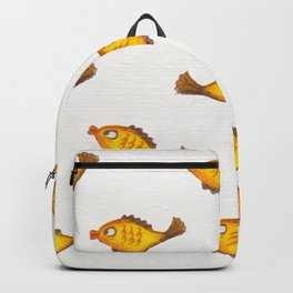 be yourself, be happy Backpack