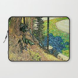The River Bank Laptop Sleeve