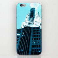 comic book iPhone & iPod Skins featuring Comic Book Chicago by A/B Photography
