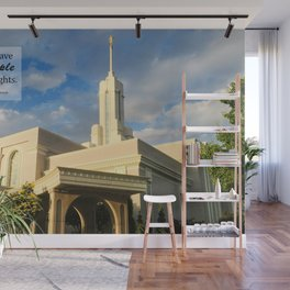 Always Have The Temple In Your Sights Wall Mural