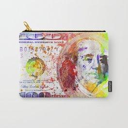 Dollar Bill Splash Carry-All Pouch