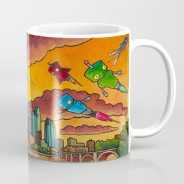 Robot - Air Traffic Coffee Mug