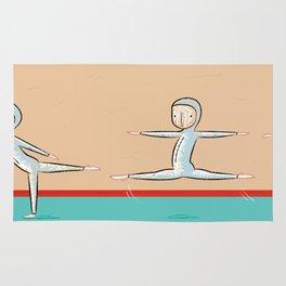 The Gymnast Rug