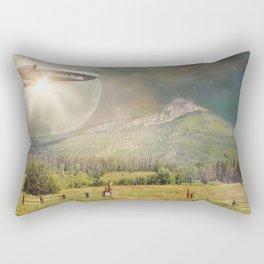 Space Mountain Rectangular Pillow