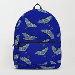 Lunar Moths Blue Backpack