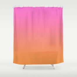 Ombré Sunset  Shower Curtain