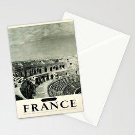 retro Nimes France Stationery Cards