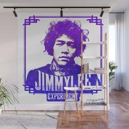Jimmy Lee - Purple Wall Mural