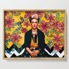 Frida Tropical Serving Tray