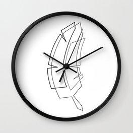 Banana Tree Wall Clock