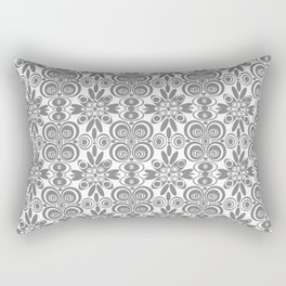 Dull and Grey  Rectangular Pillow