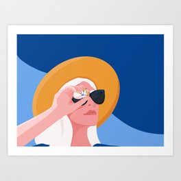 Seashell Art Print
