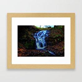 White Falls Framed Art Print