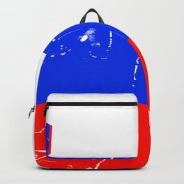 Slovenia flag with grunge effect Backpack