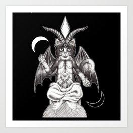 Meowphopet Art Print