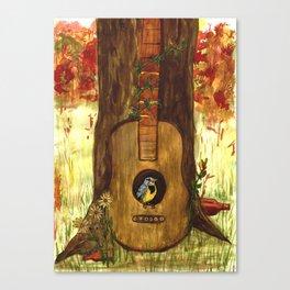 Meadowlark Canvas Print