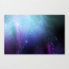 Fly Lines Canvas Print