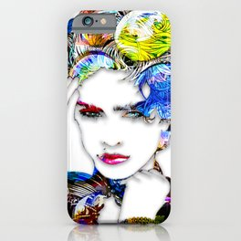 Madonna - abstract iPhone Case