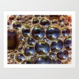 Coffee Bubbles Art Print