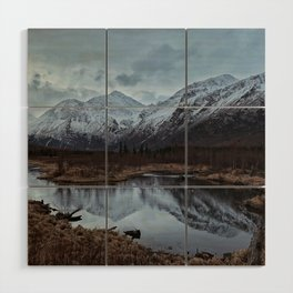 Into The Mountains Wood Wall Art