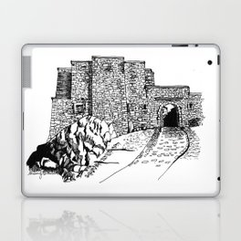 shadow at the top of the hill Laptop & iPad Skin