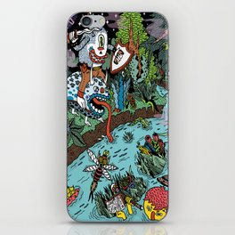 Some of us were born to explore!  iPhone Skin