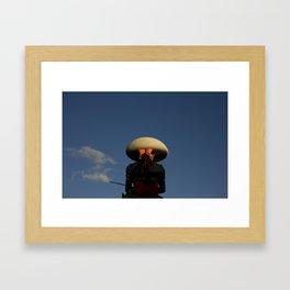 Escaramuza rider Framed Art Print