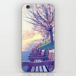 Edinburgh Princes Garden iPhone Skin