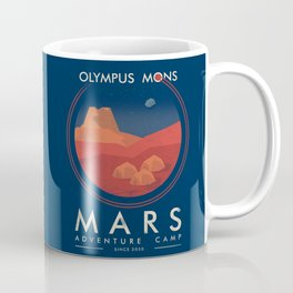 Mars adventure camp Coffee Mug