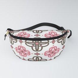 Spiral Blossom Fanny Pack