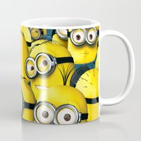targaryen Mugs featuring DESPICABLE MINION by BeautyArtGalery