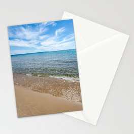 Lapping Waves Stationery Cards