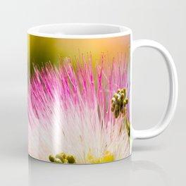 Exotic summer pink silk tree mimosa Coffee Mug