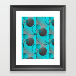 3D abstraction -21- Framed Art Print