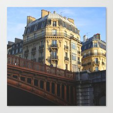 A little bit of Paris Canvas Print