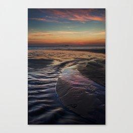 Whitesands Sunset Canvas Print