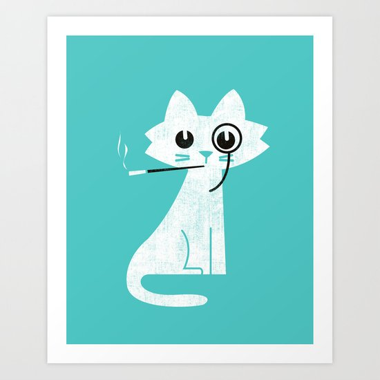Mark - Aristo-Cat Art Print