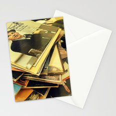 Old Blue Eyes and LPs Stationery Cards