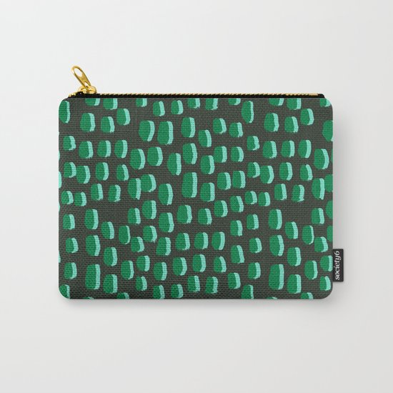 Abstract pattern dots minimal modern home decor minimalist design for dorm college office Carry-All Pouch