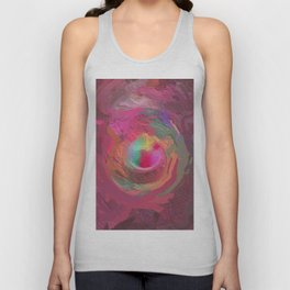 Abstract Mandala 138 Unisex Tank Top