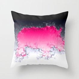 Splash Rhino Throw Pillow