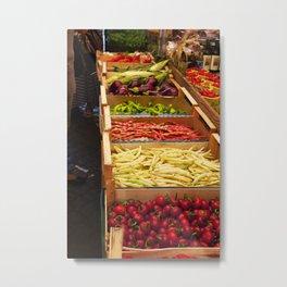 Vegetables Metal Print